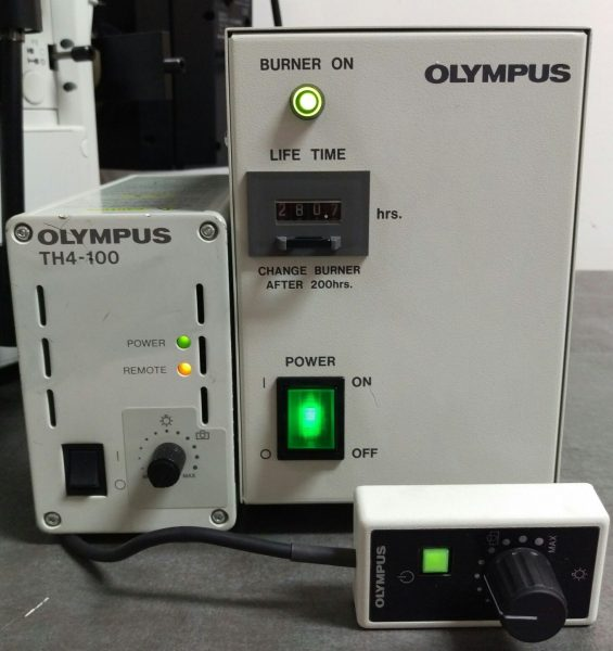 Olympus Microscope Ix51 Inverted Fluorescence And Phase